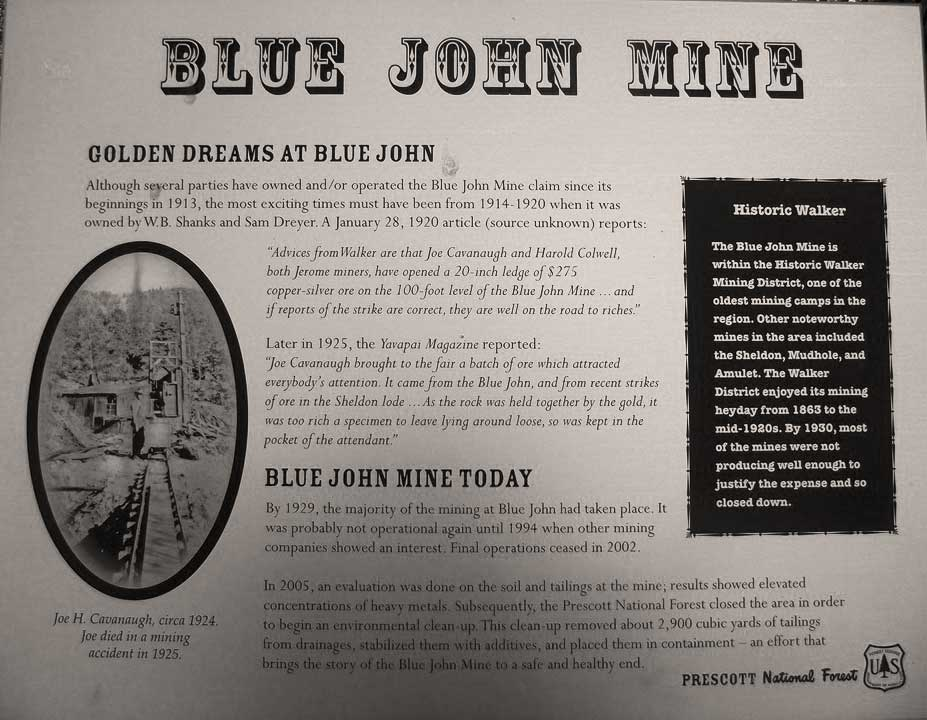 Blue John Mine Plaque