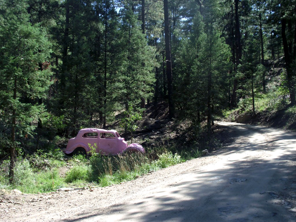 Pink Car Road, Prescott, AZ Mountains
