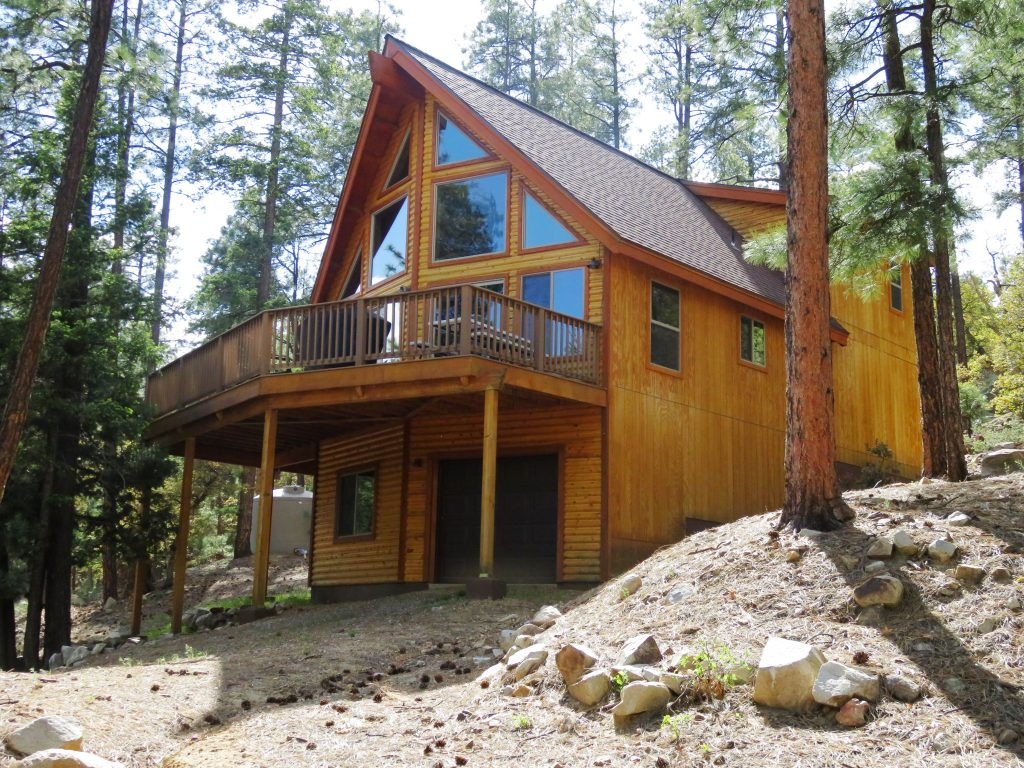 Check Out This Awesome Cabin In The Tall Pines High